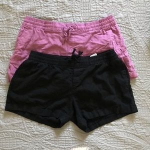 Pair of Old Navy Linen Shorts, size Large